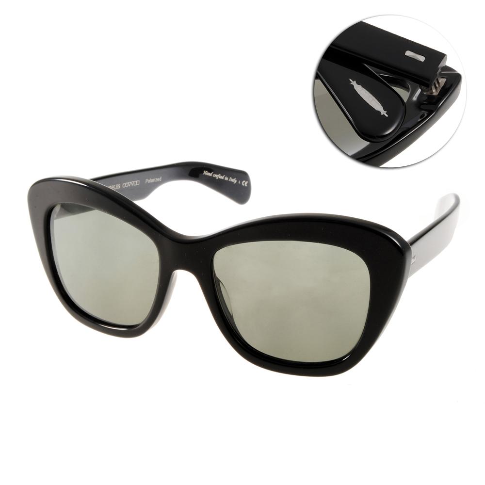 OLIVER PEOPLES太陽眼鏡 好萊塢星鏡/黑#EMMY 1005