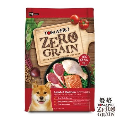 TOMA-PRO 優格 天然零穀食譜 全齡犬 敏感配方(羊肉+鮭魚)5.5磅
