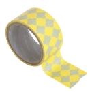 Funzakka Iconic 5cm寬版紙膠帶(單入)-菱紋黃