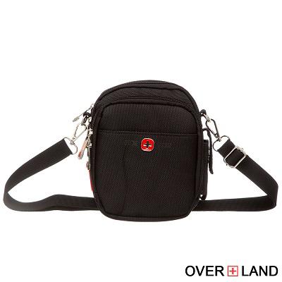 OVERLAND-美式十字軍x潮酷格紋小腰包