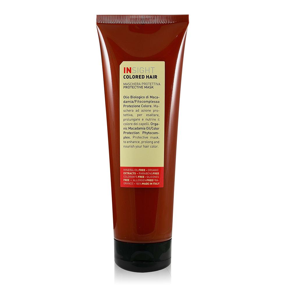 INSIGHT義大利有機髮妍 堅果油護色髮膜 250ml