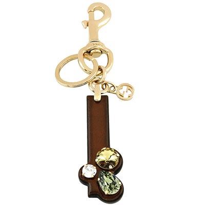 GUCCI 字母「I」水晶鑲嵌鑰匙圈