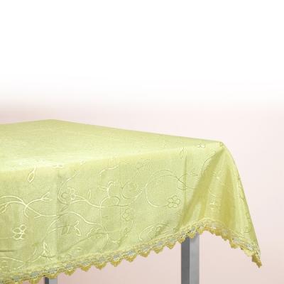 布安於室-曉花緹花布桌巾-黃