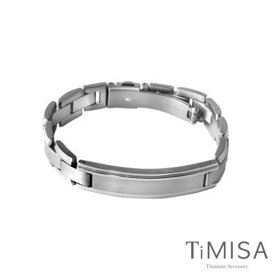 TiMISA 純粹品味 純鈦鍺手鍊