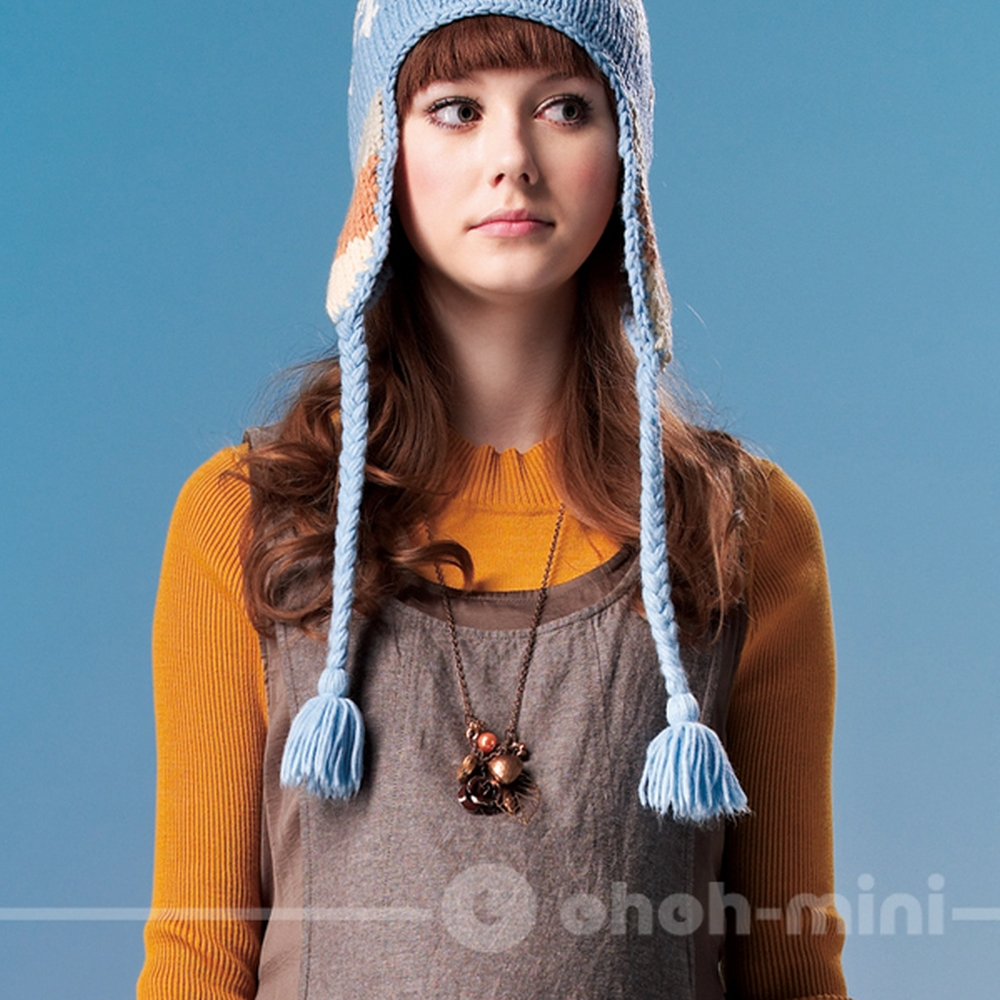 【ohoh-mini】圓領吉普賽風情孕婦背心洋裝