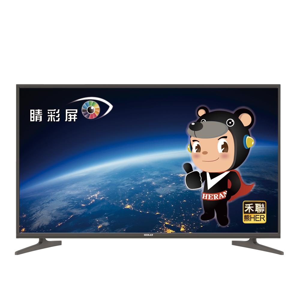 HERAN禾聯 43型 4K UHD 聯網 液晶顯示器+視訊盒 HD-434KC1
