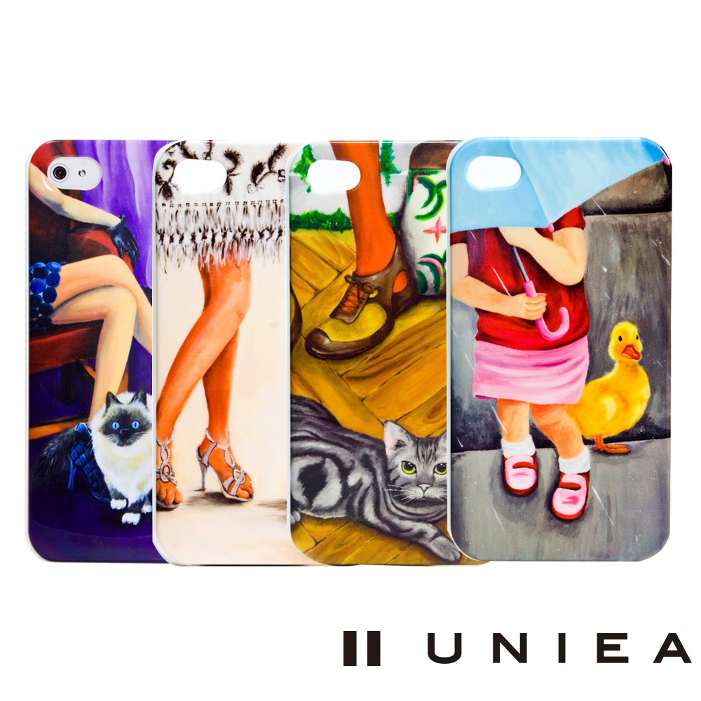 UNIEA 時尚系列 Apple iPhone 4/4S 抗刮保護殼