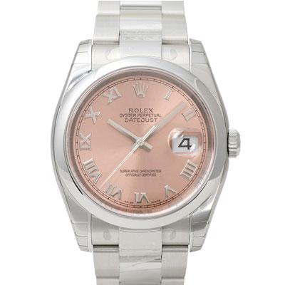 ROLEX 勞力士 Datejust 116200 蠔式日誌型機械錶-古銅羅馬/36mm