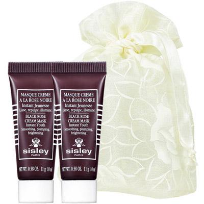 SISLEY 希思黎 黑玫瑰頂級乳霜抗老面膜(10ml)2入旅行袋組