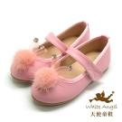 天使童鞋雪妍免娃娃鞋粉JU716