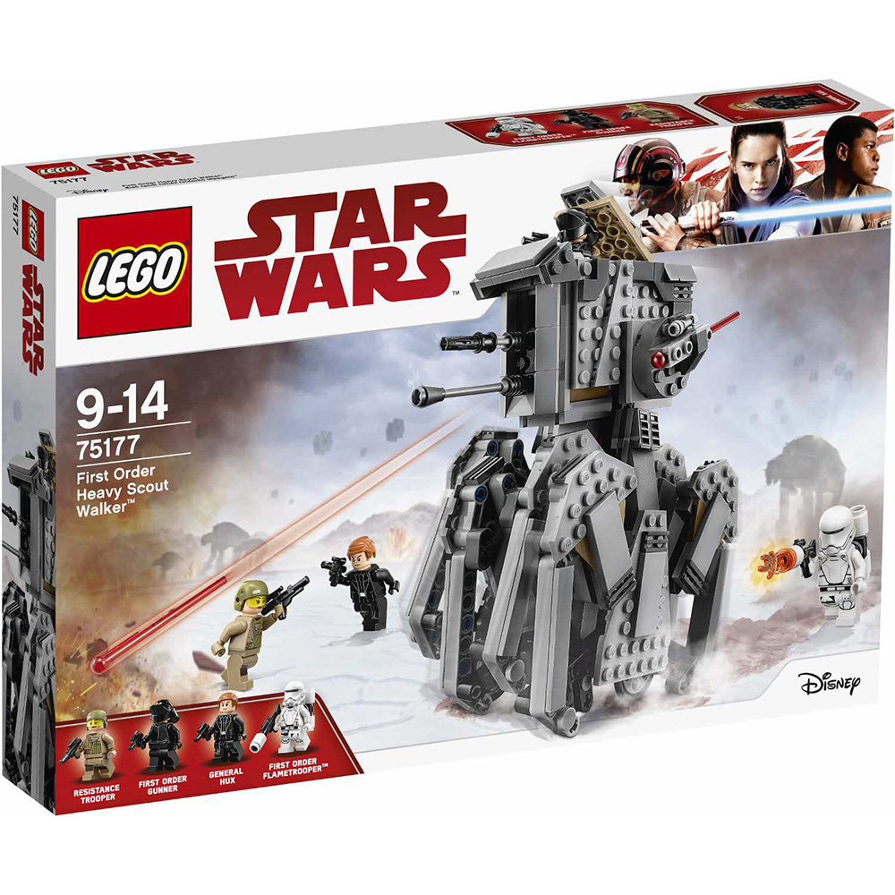 樂高LEGO 星際大戰系列 LT75177 First Order Heavy Scou