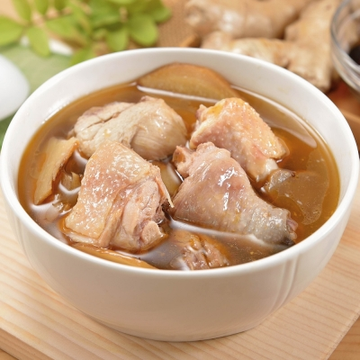 (任選)艾其肯養生雞湯 養生麻油雞( 450 g/包)