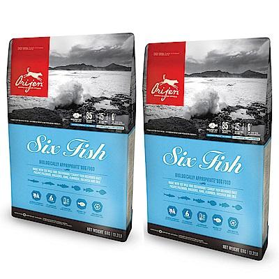 渴望 成貓 六種鮮魚+海藻配方 貓糧 1.8KG 兩包組【2136】