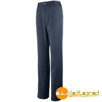 【Wildland 荒野】W1317 女 彈性抗UV休閒長褲 (51藍灰色)