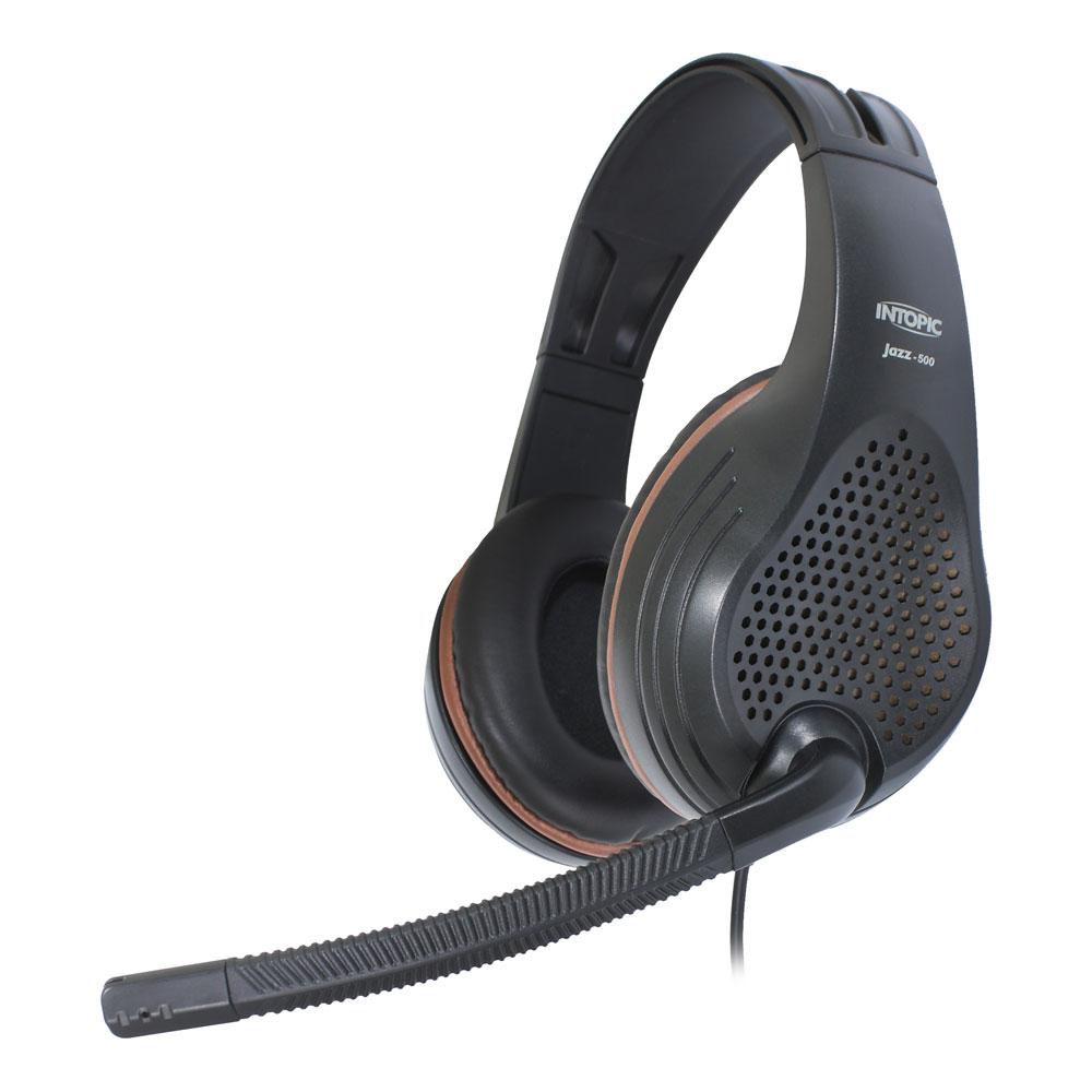 【INTOPIC】全功能型高音質耳機麥克風JAZZ-500