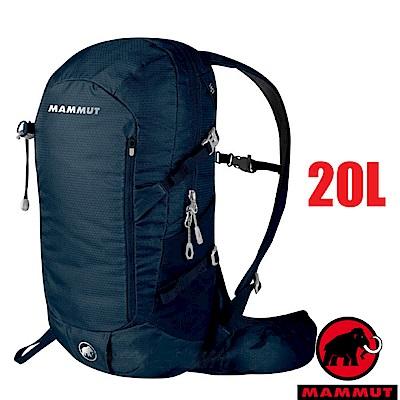 【MAMMUT 長毛象】新款 Lithium Speed 登山健行背包20L_冠藍鴉