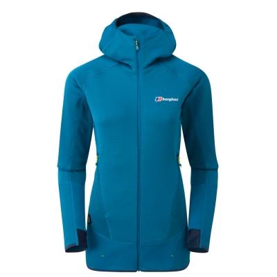 【Berghaus 貝豪斯】女款銀離子溫度調節保暖外套H22FS1藍