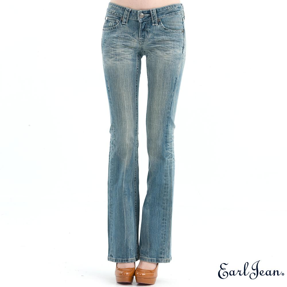 Earl Jean低腰緊身喇叭褲