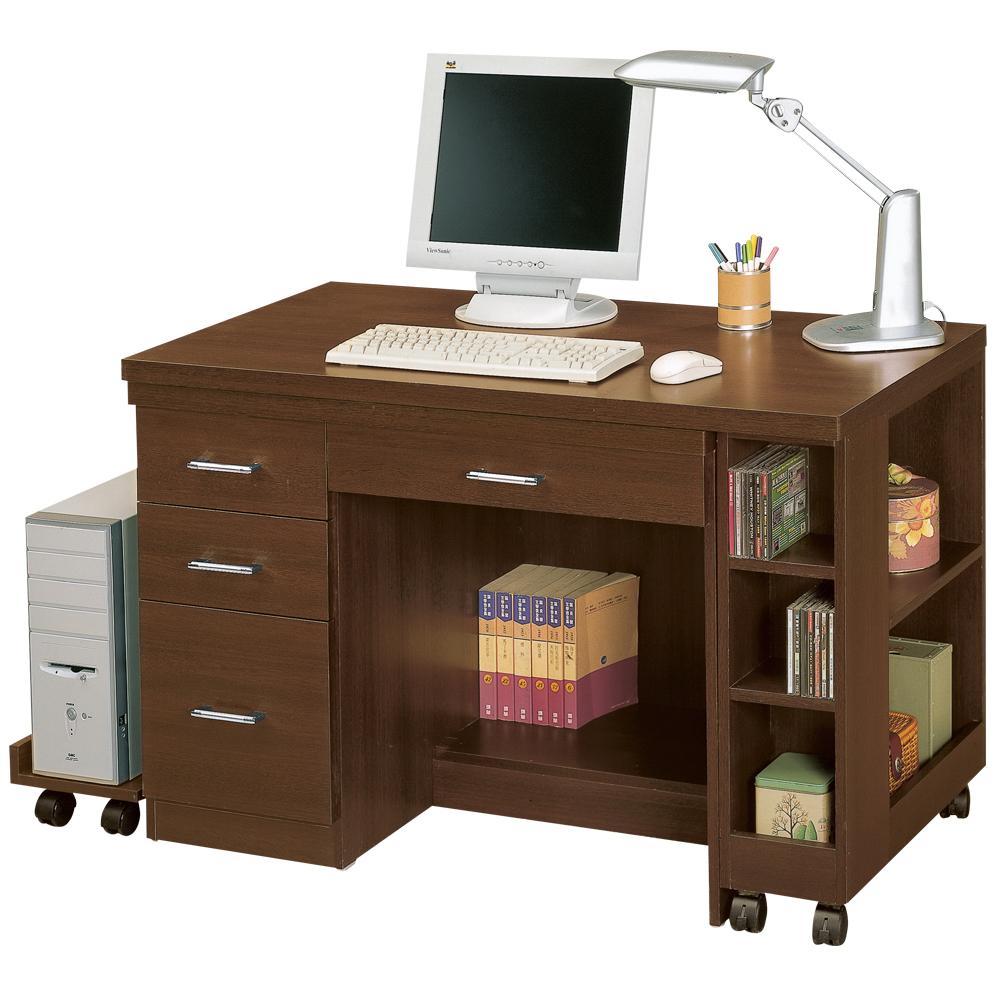 時尚屋 歐爾多功能書桌 寬121-204cm