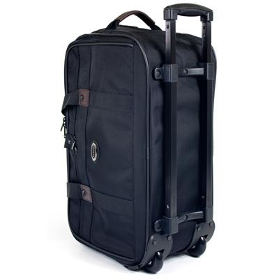 【YESON】18吋登機拉桿拖輪旅行袋(LT-888-黑)
