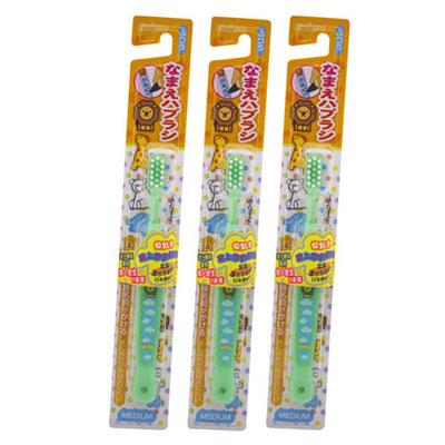 日本EBISU-個人識別兒童牙刷×3入-顏色隨機