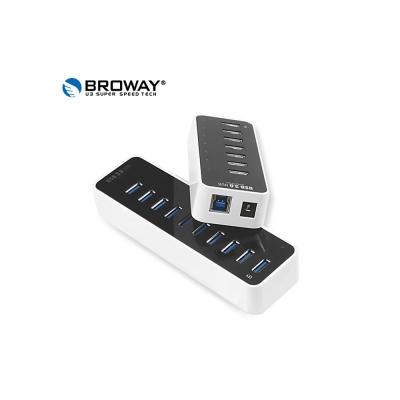BROWAY 5Gbps USB3.0 全10埠 HUB 集線器