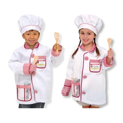 美國瑪莉莎 Melissa & Doug 廚師服遊戲組
