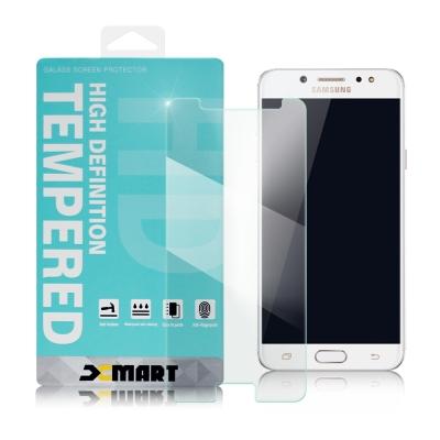 XM Samsung Galaxy J7+ 薄型 9H 玻璃保護貼-非滿版