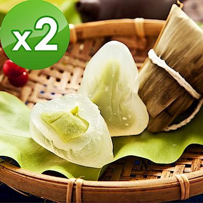 樂活e棧~包心冰晶Q粽子~抹茶口味 6顆 包,共2包