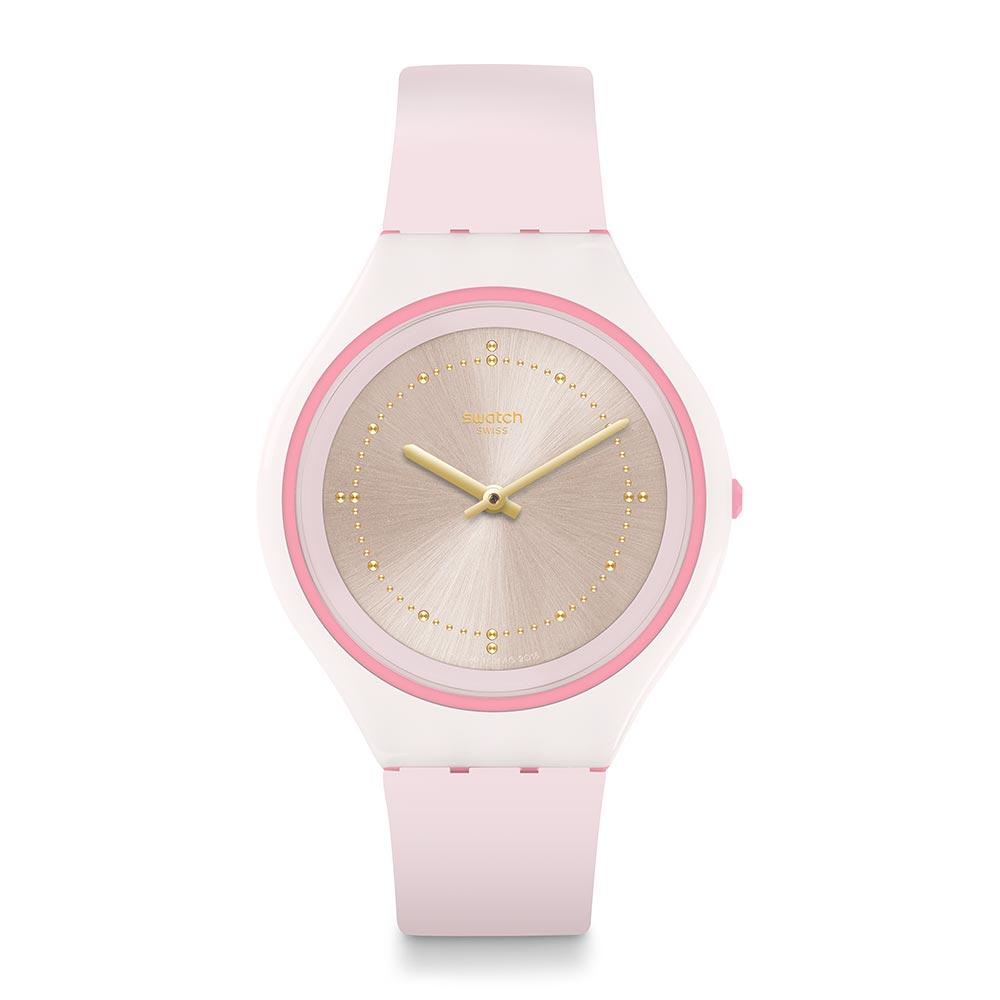 Swatch SKIN超薄系列 SKINBLUSH 超薄紅暈手錶