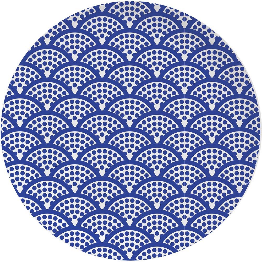 EXCELSA Maga淺餐盤(湛藍21cm)
