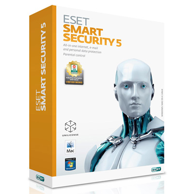 ESET Smart Security 5 防毒三年單機版超值促銷