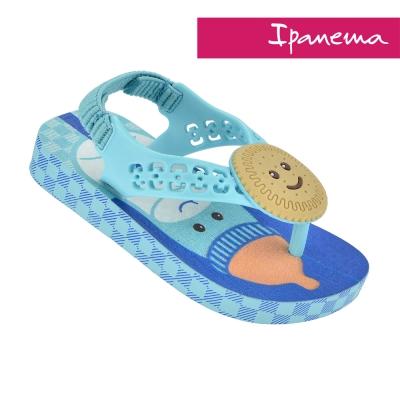 IPANEMA  活力貝比寶寶休閒涼鞋-藍色印花