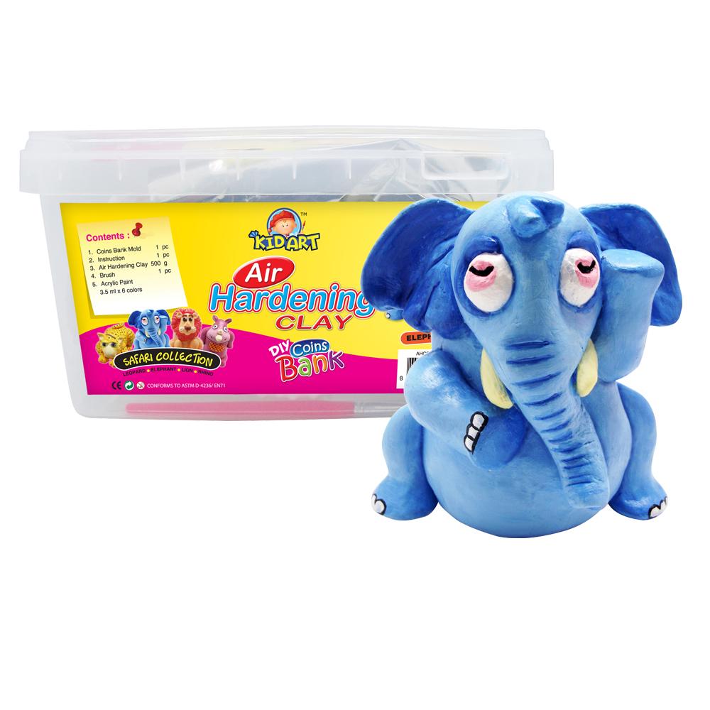 【KID ART】美國創意手作黏土-原色黏土(大耳象)