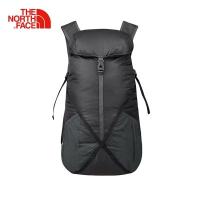 The North Face深灰色可收納式技術背包