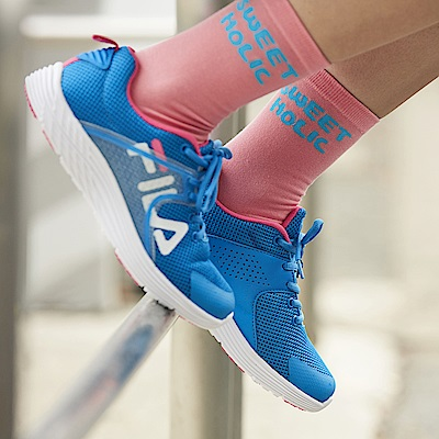 FILA #東京企劃 街頭運動鞋 女款慢跑鞋-天際藍5-J026S-311