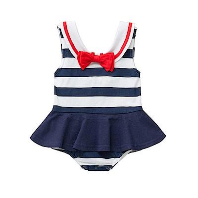baby童衣 無袖海軍領水手服造型包屁裙 32018