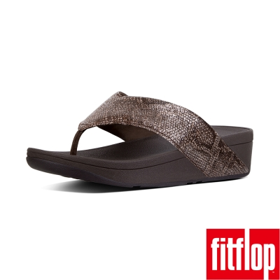 FitFlop SWOOP TOE-THONG-巧克力色