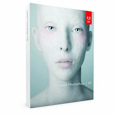 Adobe Photoshop CS6中文升級版-從CS3/CS4/CS5升級 Win