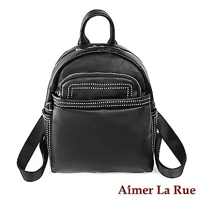 Aimer La Rue 後背包 布雷曲簡約系列(黑色)