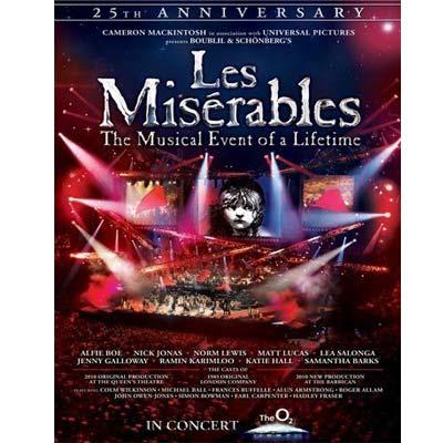 悲慘世界音樂劇 25週年紀念演唱會  DVD