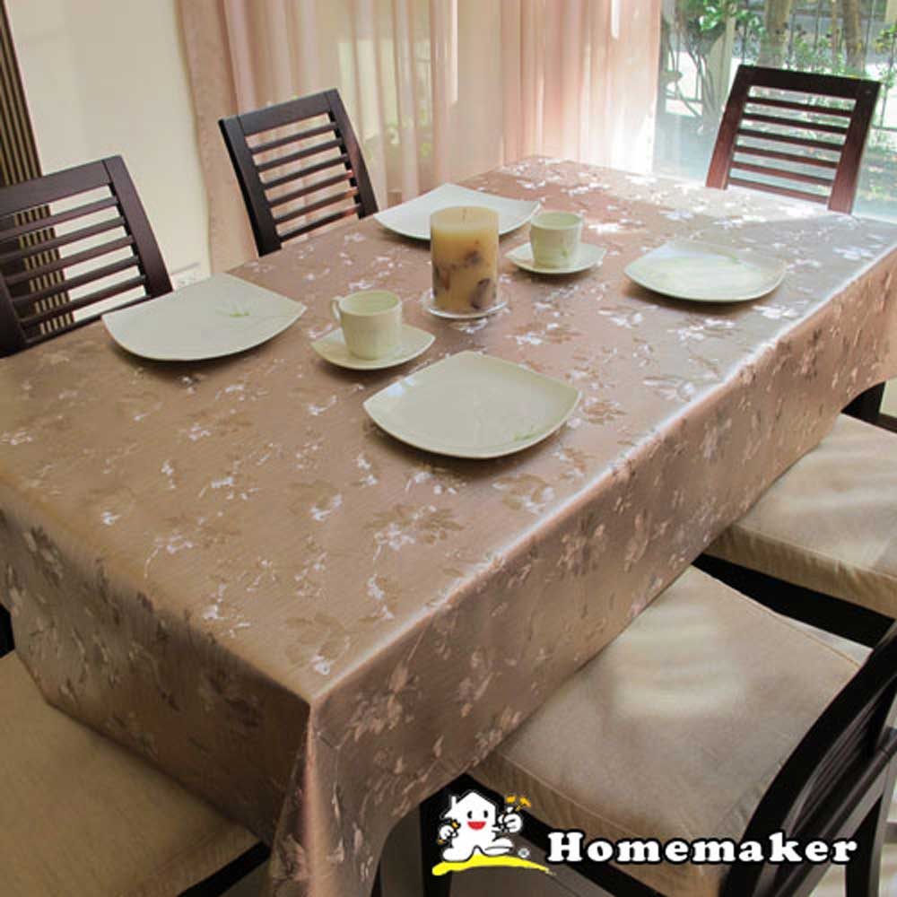 Homemaker-古典印花桌巾(RN-PW143-026)-長180cmX寬137cm