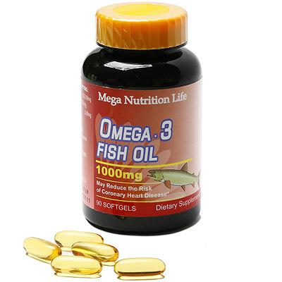 美國Mega 亞米加魚油軟膠囊90顆