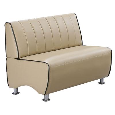 COUCH 極簡印象雙人座皮沙發(二色可選)