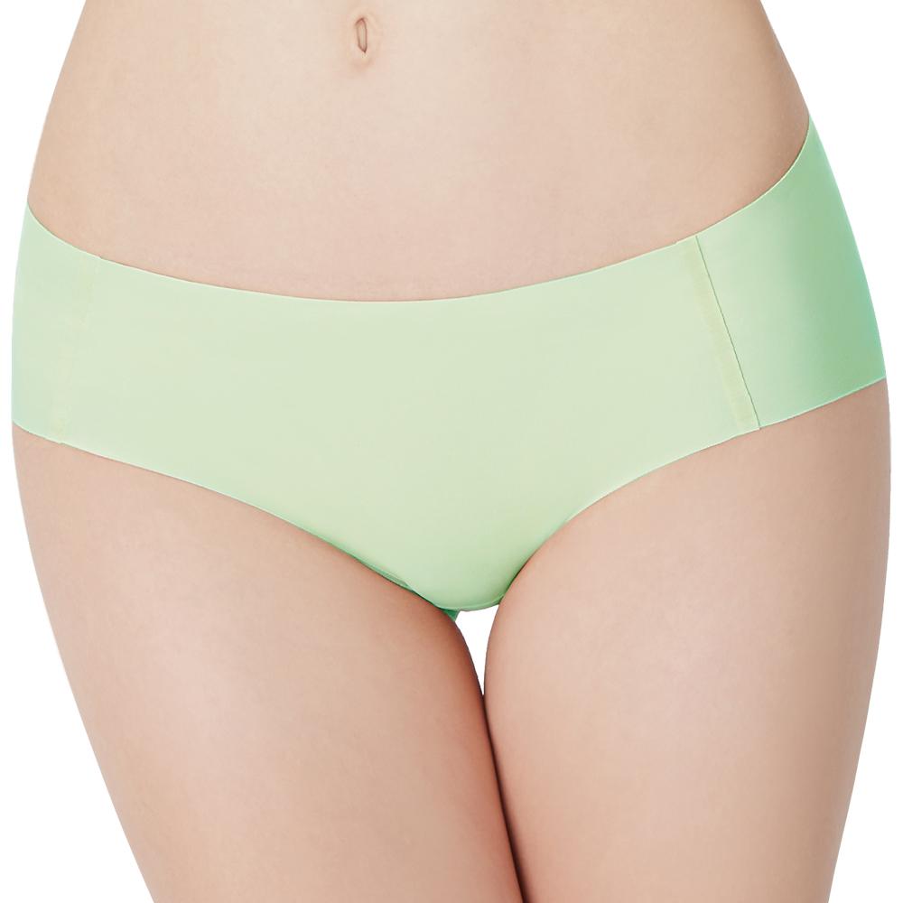 思薇爾 I LOVE U SO SOFT系列M-XXL素面低腰平口無痕內褲-翡翠綠