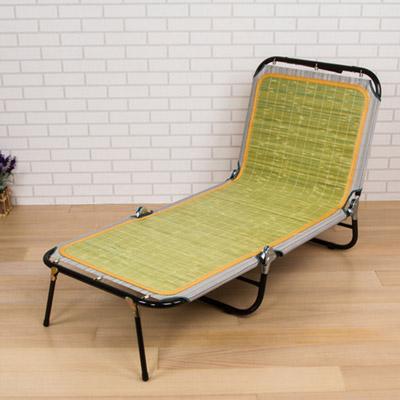 竹面三折疊床/休閒椅