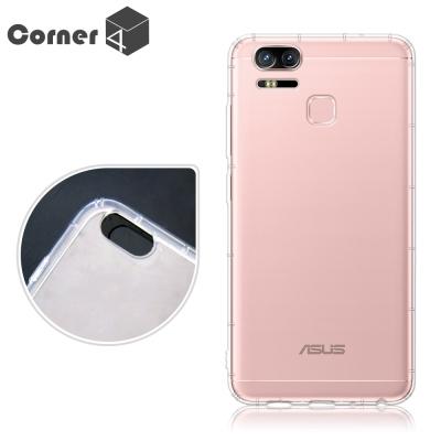 Corner4 ASUS ZenFone 3 ZE553KL 透明防摔手機空壓軟...