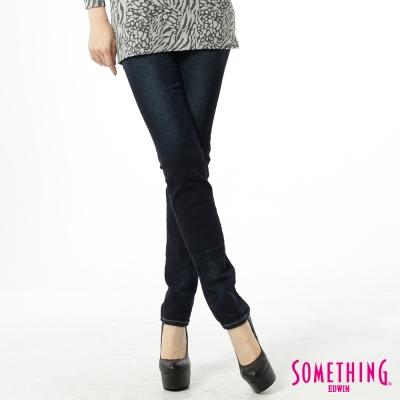 SOMETHING STORYⅠ低腰提臀直筒褲-女款-原藍色