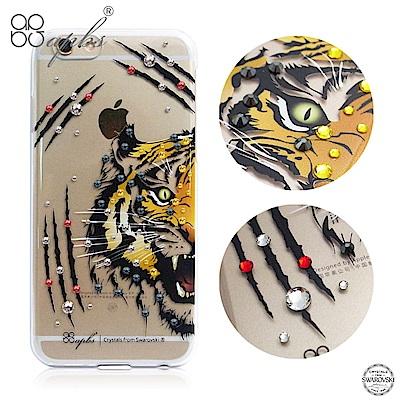 apbs iPhone6s/6 4.7吋 施華洛世奇彩鑽手機殼--虎頭