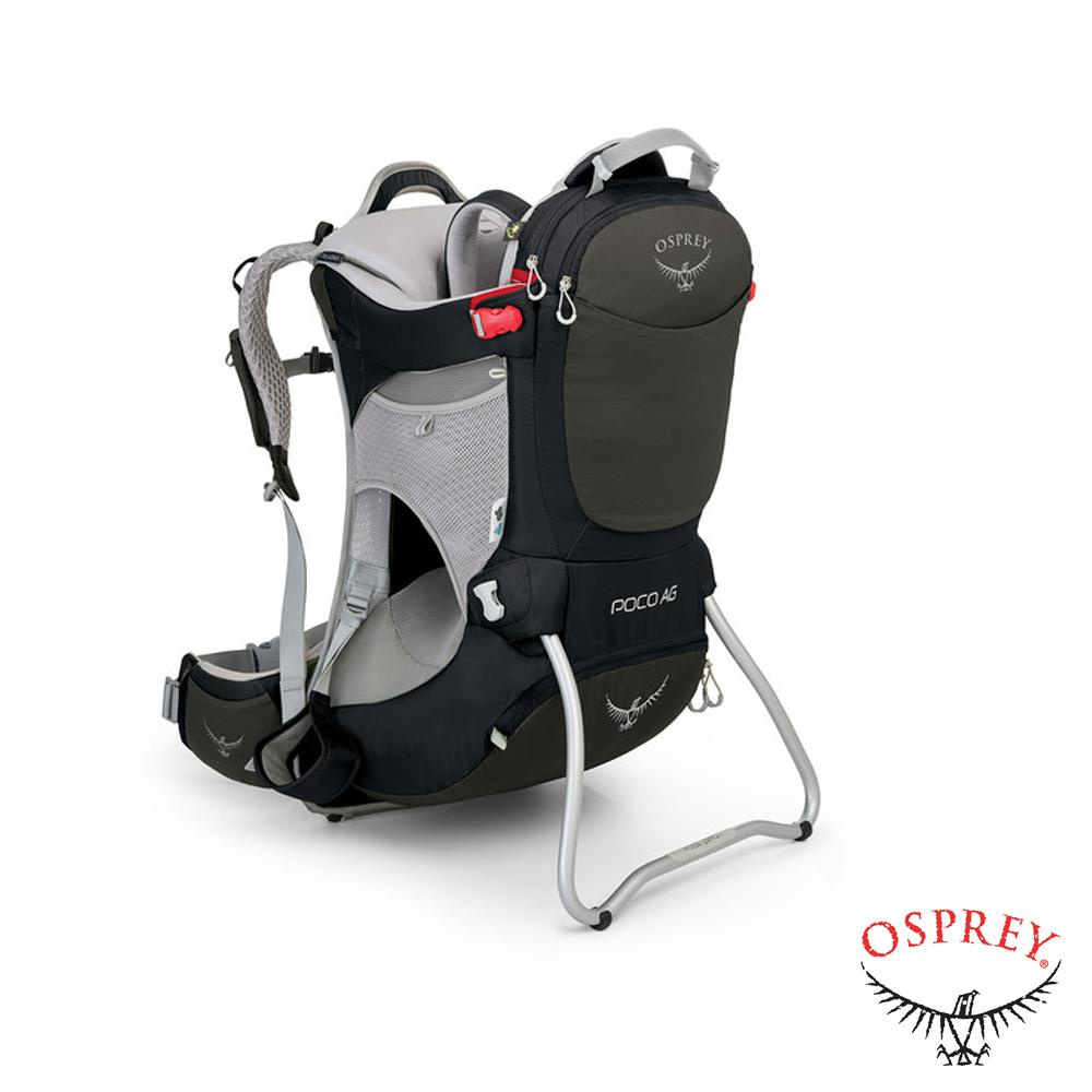 OSPREY Poco AG 20L鋁合金輕量嬰兒背架背包黑R